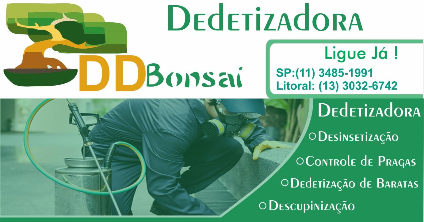DDBonsai Desentupidora e Dedetizadora
